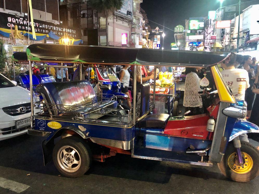 Buntes Tuk Tuk in Bangkok
