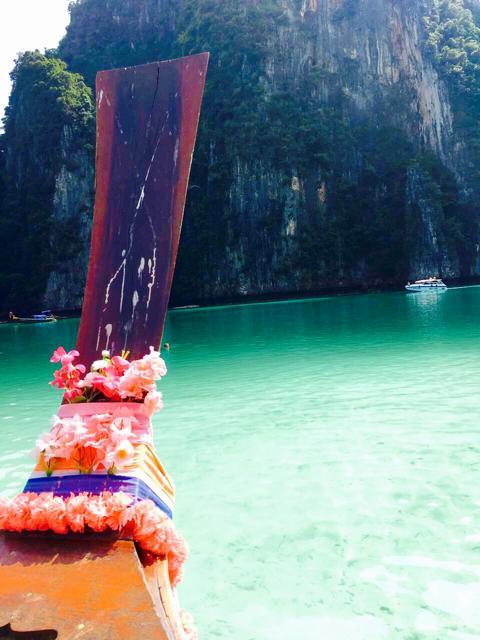 Lagune auf Phi Phi Leh