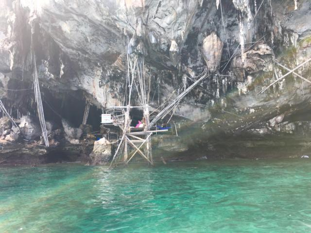 Höhle Koh Phi Phi Thailand