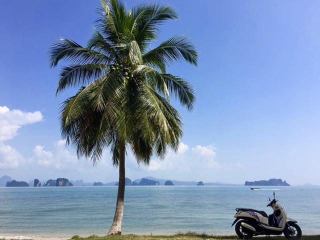 Thailand Reisetipps, Rollerfahren