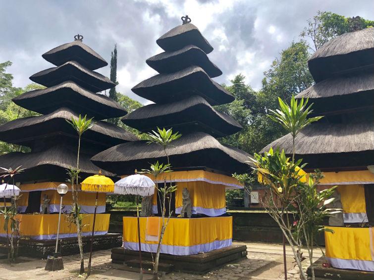 Türme des Batukaru Tempel