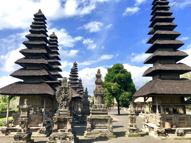Bali Sehenswürdigkeiten, Tempelanlage