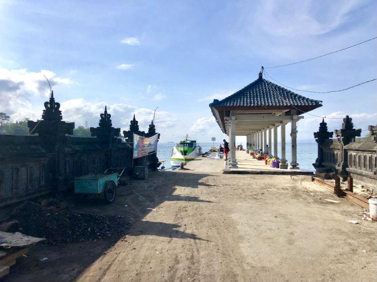 Hafen in Padang Bai Bali
