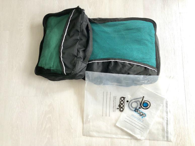 Packtaschen für Koffer