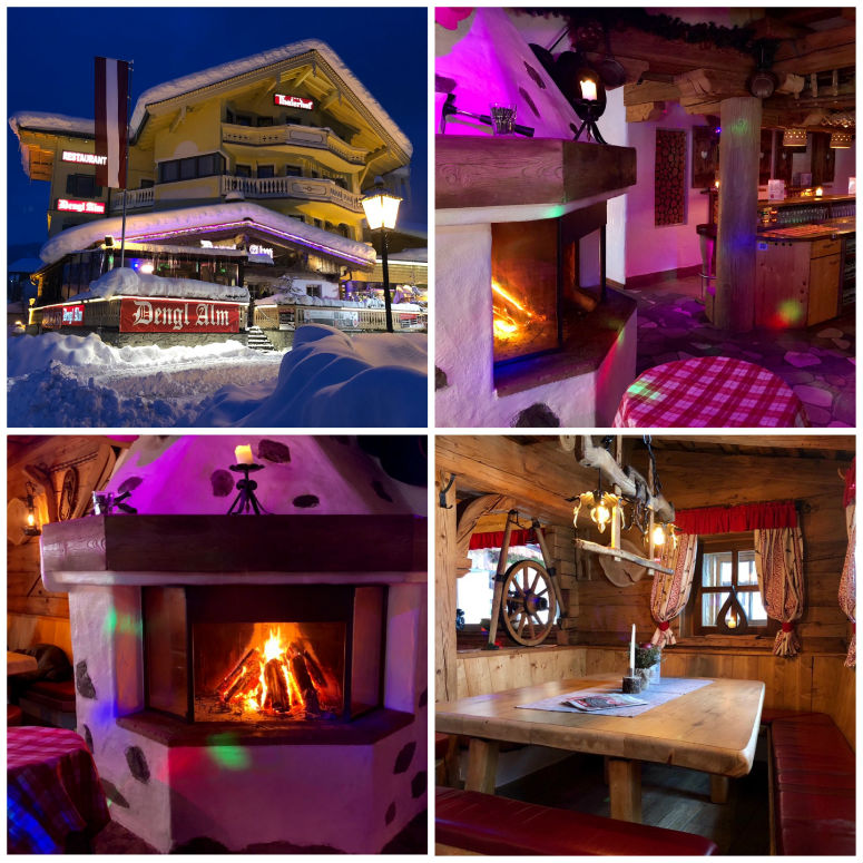 Bilder einer Maria Alm Aprés-Ski Hütte