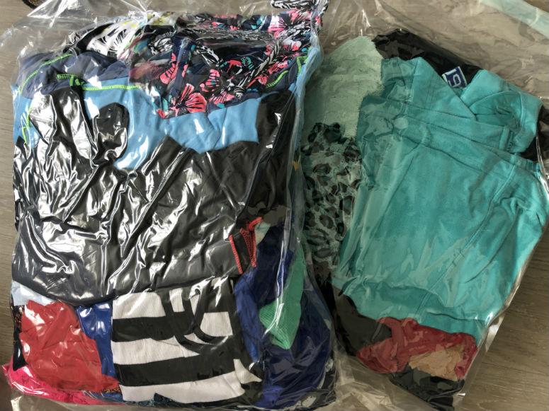 USA Reisetipps, Vakuumbeutel mit Klamotten