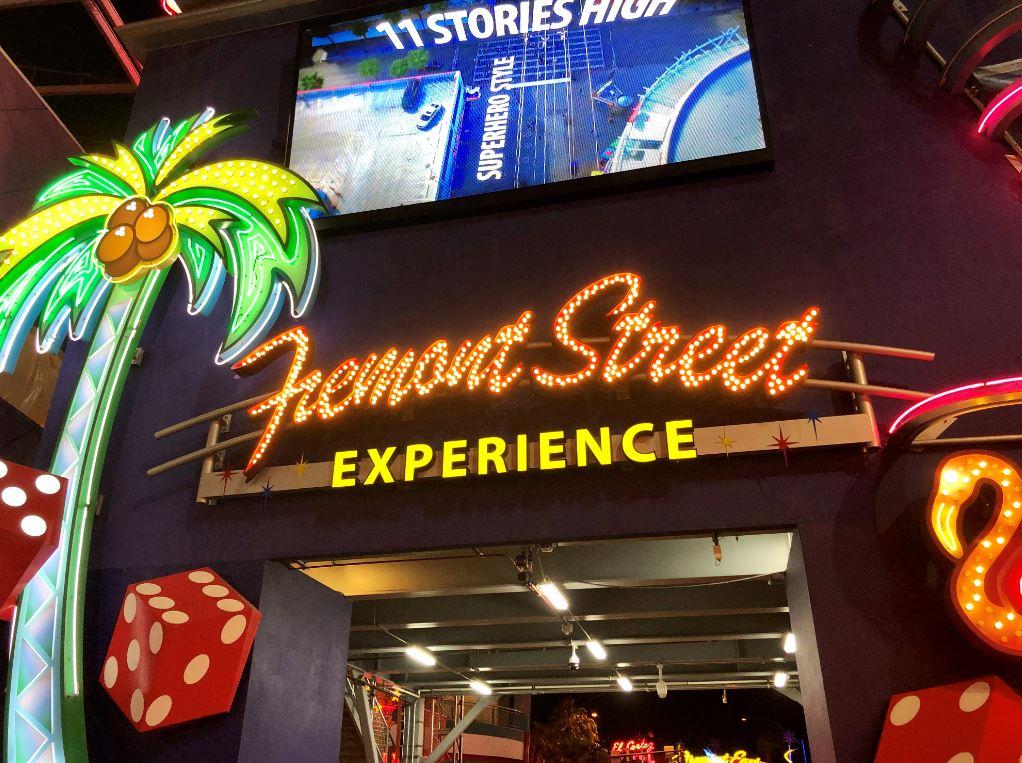 Fremont Street, ein bunter Ort unter den Las Vegas Sehenswürdigkeiten