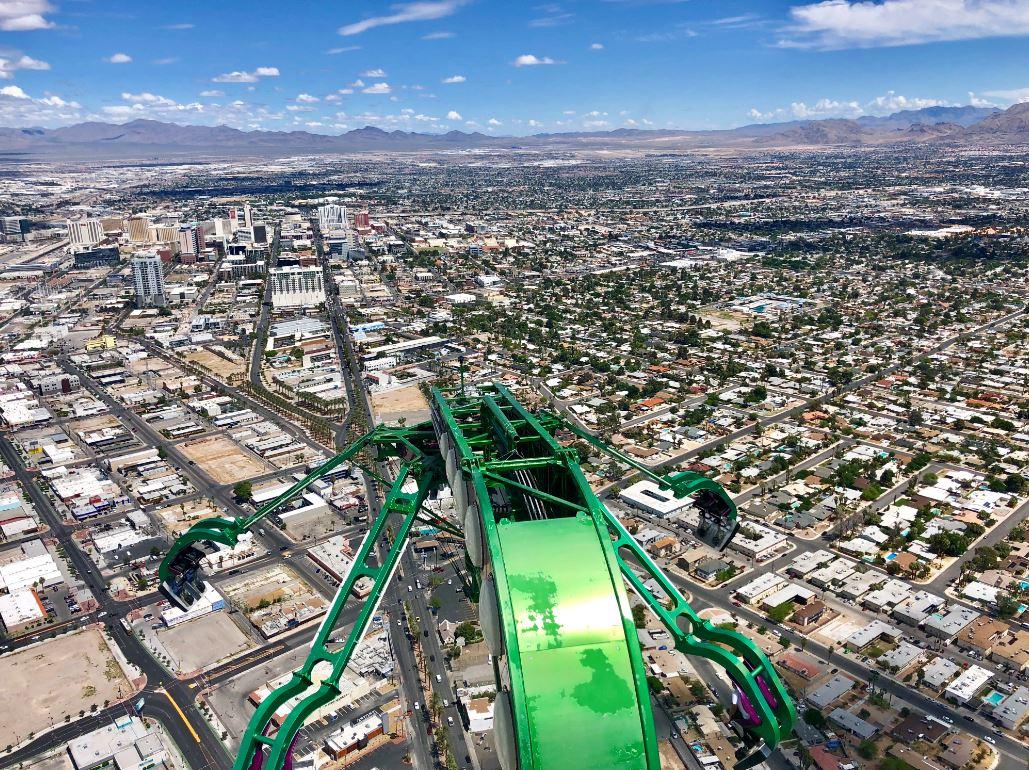 Aussicht vom Stratoshphere Tower Las Vegas