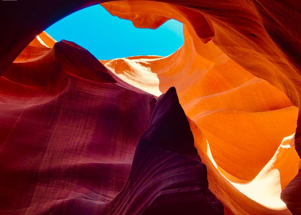Nationalparks der USA, Antelope Canyon bunte Farben