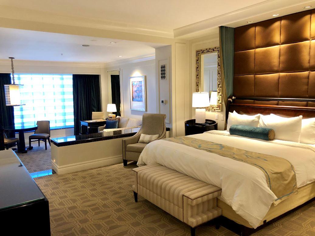 Gratis Upgrades und vieles mehr durch die Amex Kreditkarte, Hotelzimmer Las Vegas