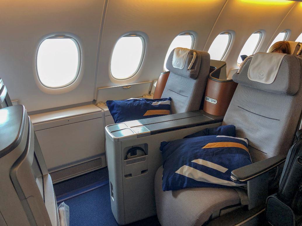 Lufthansa Business Class, Kabine