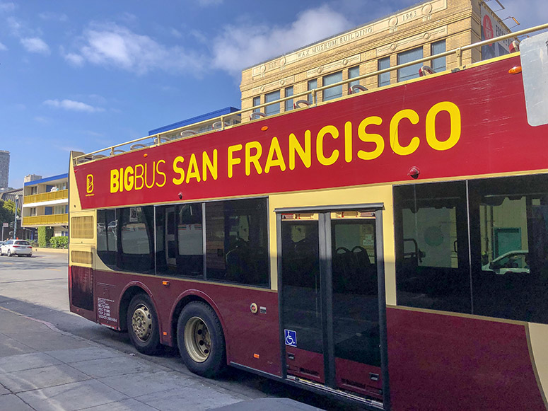 San Francisco Sehenswürdigkeiten, Hop on hop off Bus