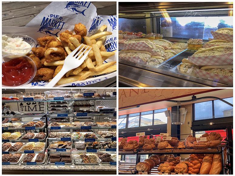Verschiedenes Essen in San Francisco