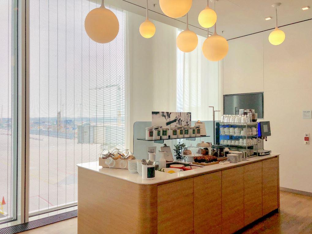 Bar in der Flughafen-Lounge