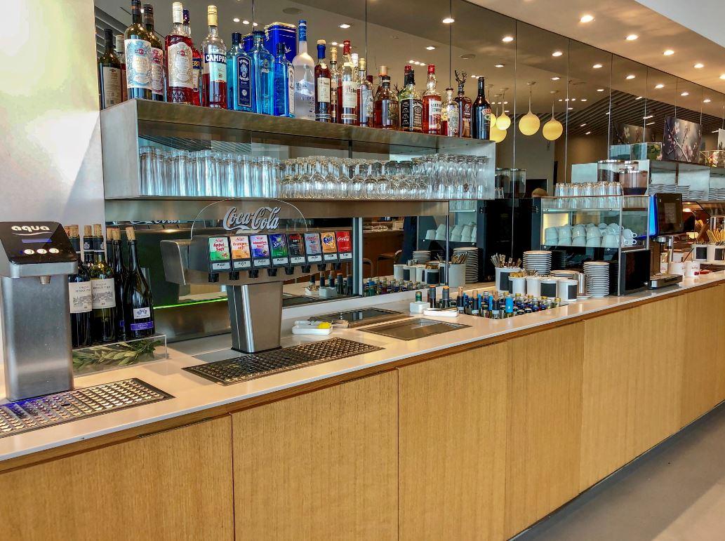 Getränkebar Senator Lounge Flughafen München