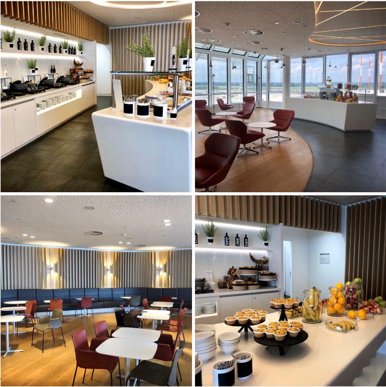 Airport Lounge World München, verschiedene Ansichten der Lounge
