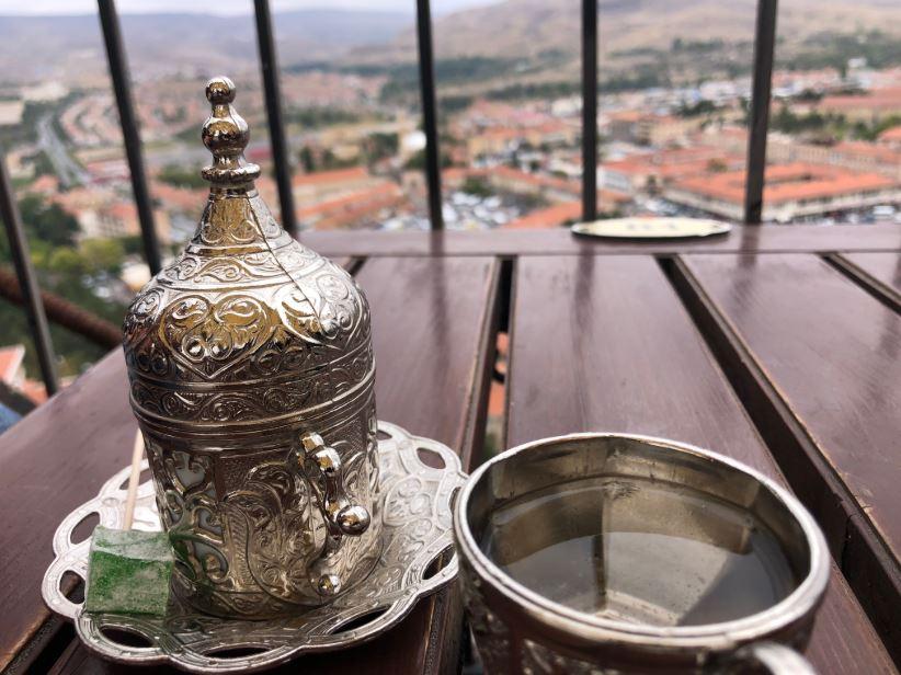 Kappadokien Reise, Tasse mit türkischem Mokka