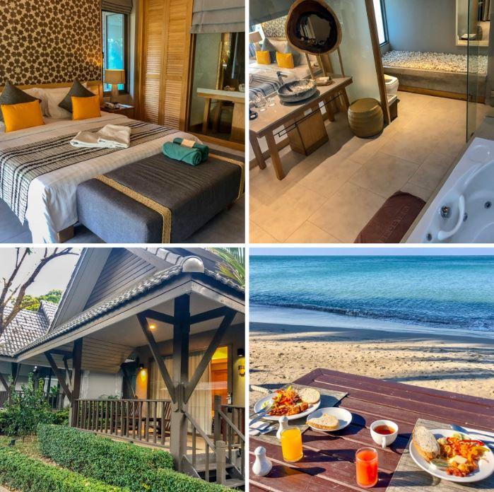 Koh Chang Hotels, verschiedene Ansichten der Anlage KC Grande