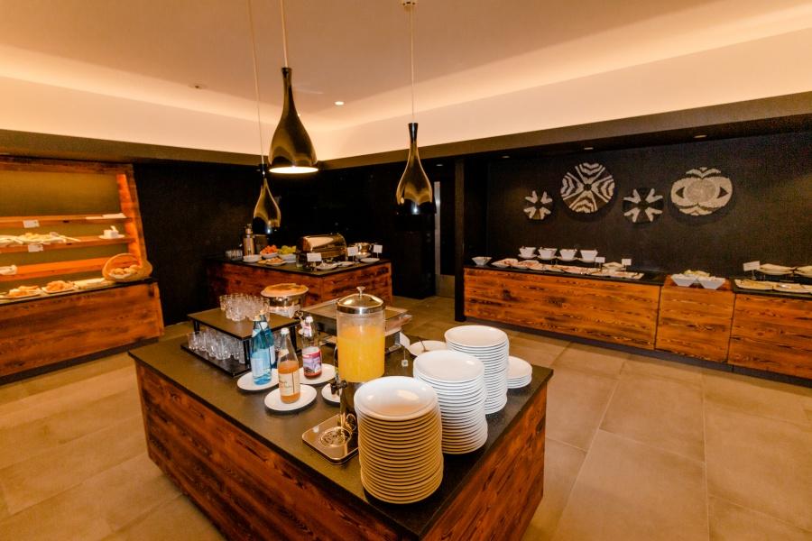Frühstücksbuffet im Hotel Botango