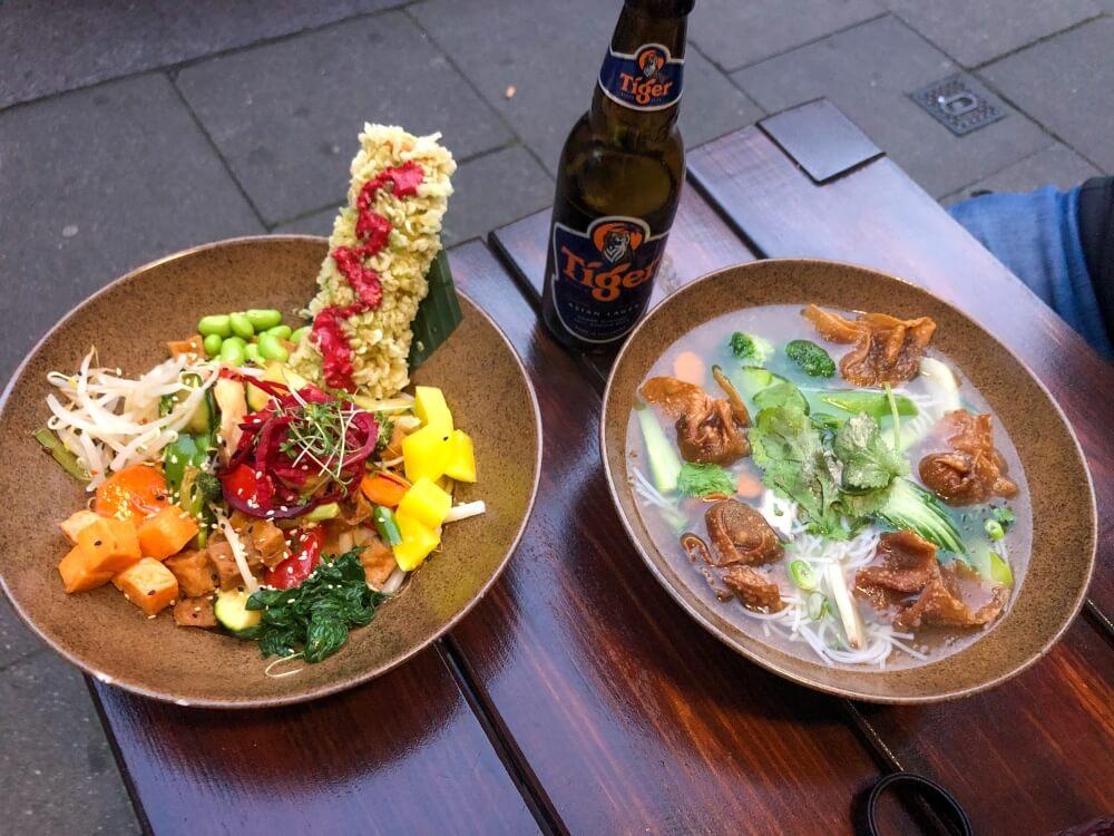 Hamburg Tipps, Bowl und Suppe im TA Vegan House