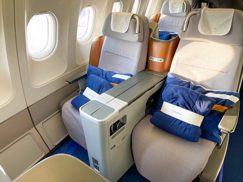 2 Sitze in der Lufthansa Business Class, Infos über Flugverbindung nach Mexiko