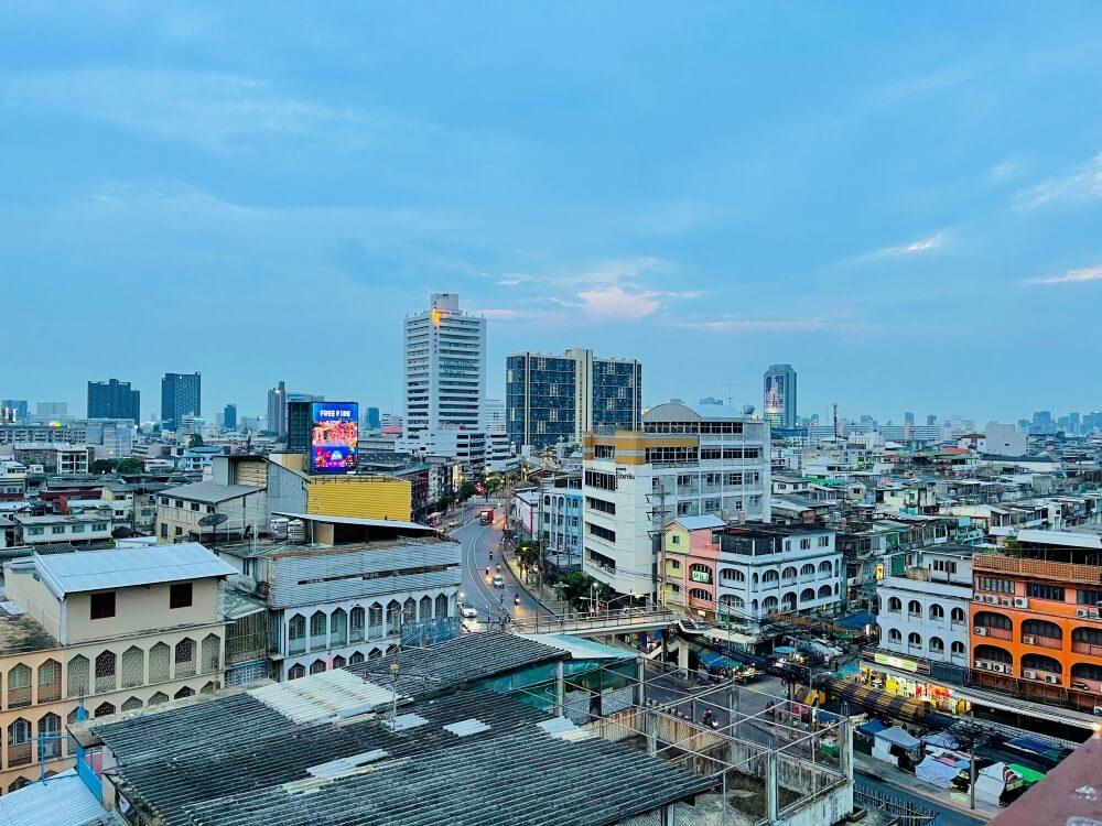 Ausblick auf Bangkok