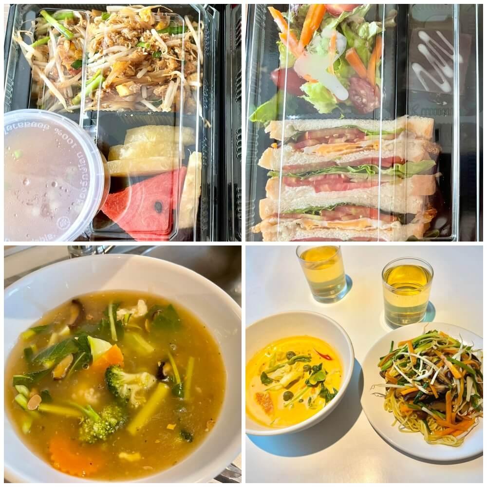 Das Essen im ASQ Hotel Hi Residence Bangkok